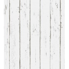 Akea White Wood Wallpaper Peel and Stick 17.7 x 236.2 Inch Contact Paper Self-Adhesive Removable Wall Covering Vintage Decorative Prepasted